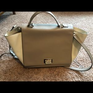Kate Spade Tan And White Purse